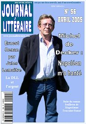 Couverture du Journal littéraire