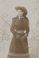 Annie Oakley by Charles Stacy (1894)